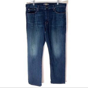 Lucky Brand Men's Classic Straight Jeans 36x32